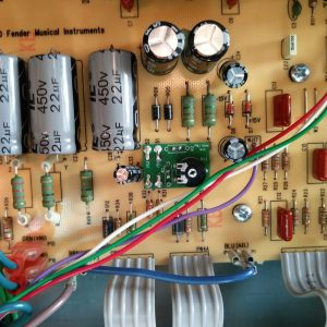 Fender Blues Junior Bias Mod PCB