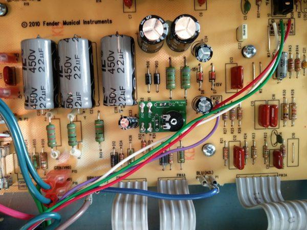 Fender Blues Junior Bias Mod PCB