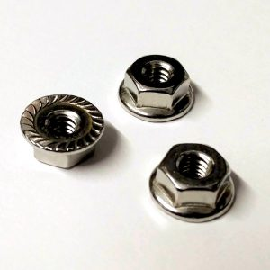 Serrated Flange Locking Nut for Vintage Fender