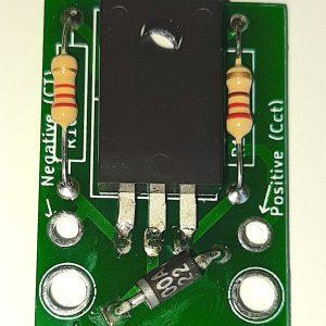 High Voltage HT dropper circuit